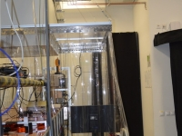 Lézer gép védelem PVC szalagfüggönnyel