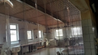 Kenyérgyár, térelválasztó függöny
