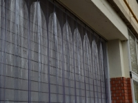 Hővédő függöny kapura