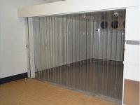 Normál PVC szalagfüggöny