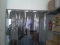 Raktár elválasztó hőfüggöny