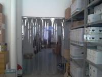 Műanyag függöny átjáróba