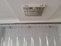 PVC szalagfüggöny felfogatás