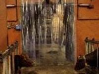 hőfogó függöny istállóba