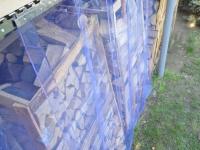 Szalagfüggöny külső térelválasztó