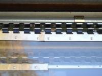 Rozsdamentes felfüggesztés PVC szalaghoz