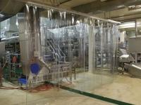 térelválasztó PVC védőfüggöny
