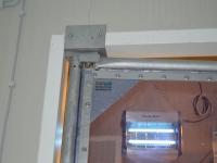 PVC lengőajtó