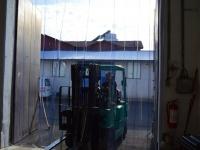 Térelválasztó hőszigetelő függöny