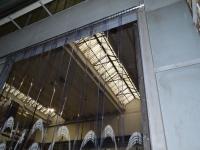 Ipari térelválasztó termo függöny
