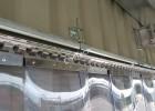 Eltolható PVC szalagfüggöny