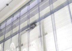 Szerelési útmutató PVC szalagfüggönyhöz, hőfüggönyhöz